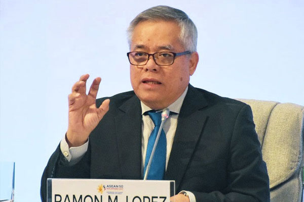 Trade and Industry Secretary Ramon M. Lopez / PCOO