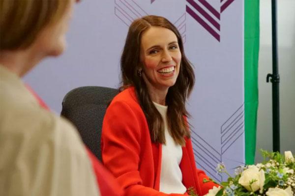 New Zealand Prime Minister Jacinda Ardern. (Antara/HO-APEC 2021 New Zealand)